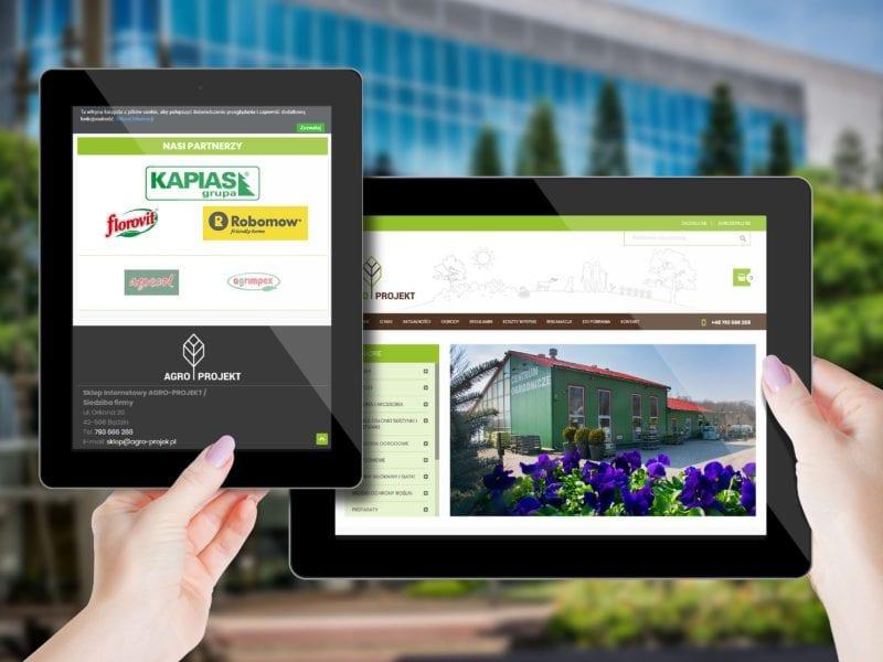 Sklep internetowy - wizualizacja projektu