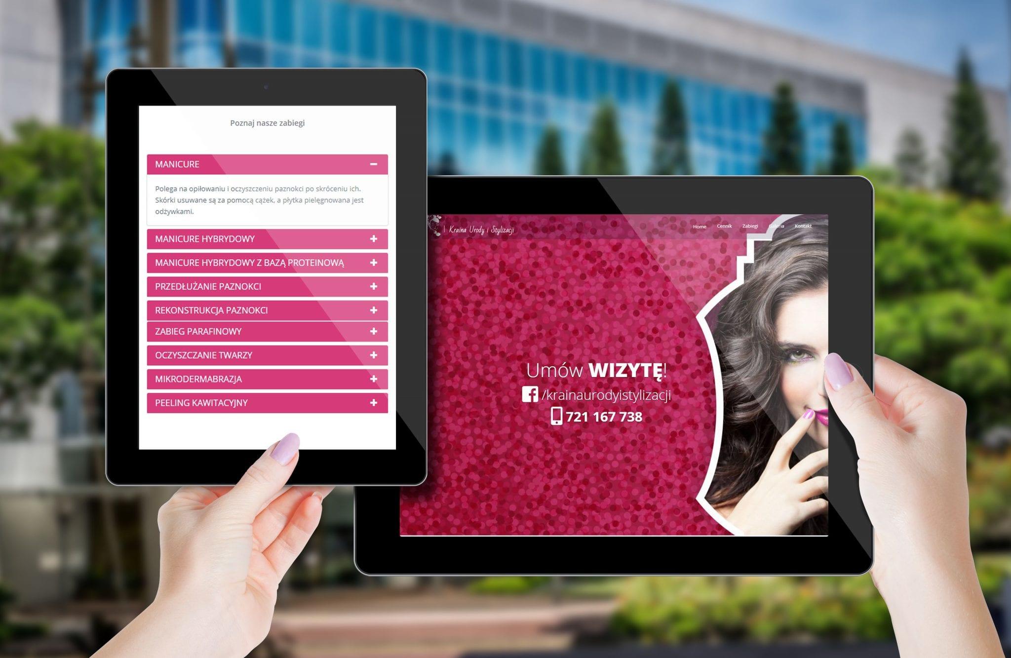Strony www - wizualizacja projektu